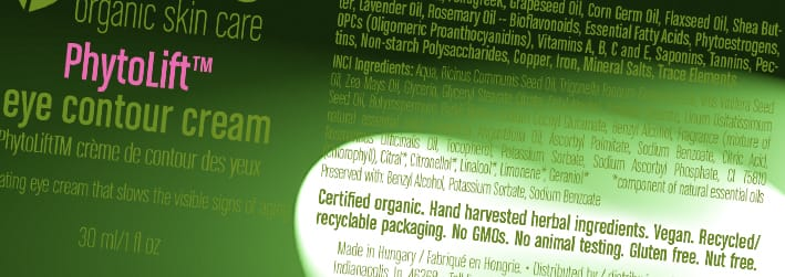 "labels defining whether the product was ""made with organic ingredients"""