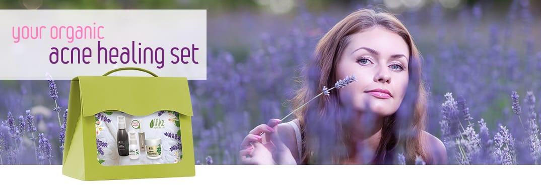 your organic acne healing set