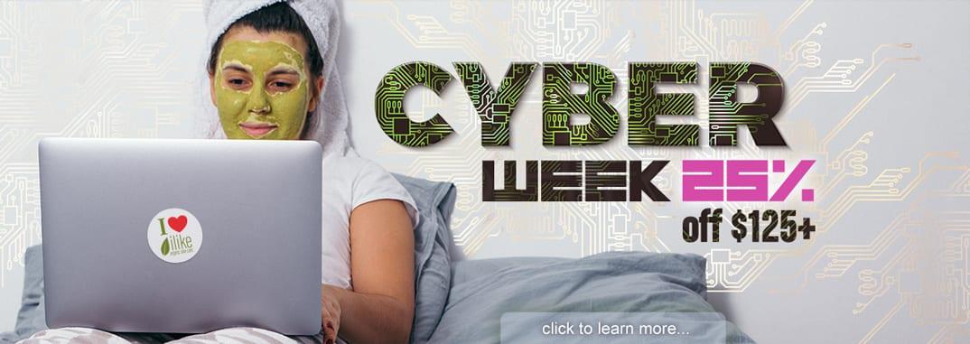 Cyber Week 2019 offer