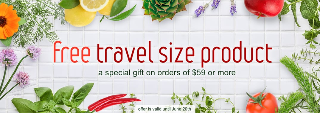 free travel size product