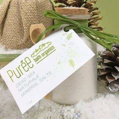 Purée Bath Organics Mineral Salt Holiday Gift Set